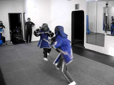 Mixed Weapon sparring #4