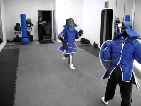 Mixed Weapon Sparring #1