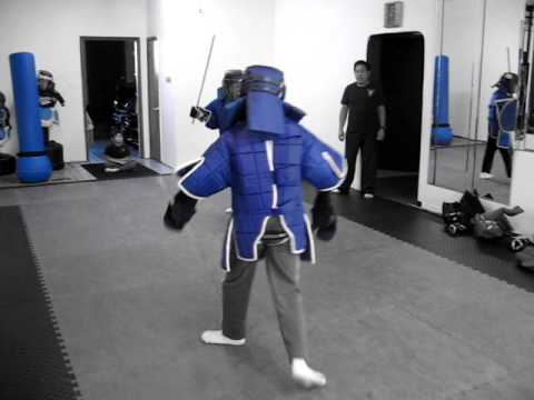 Mixed weapon sparring #3