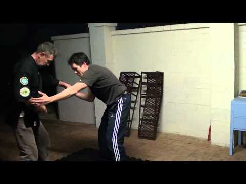 Knife training with GM Henderson