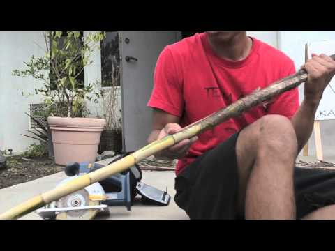 New Iron Rattan Stick for Kali Method: Raphis Palm Stick