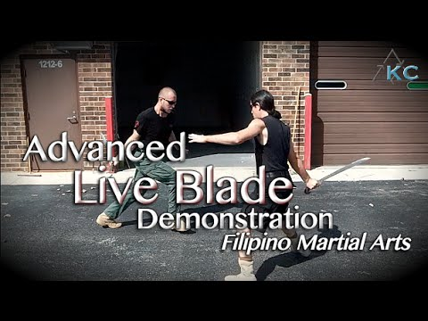 KALI ESCRIMA ARNIS - Live Blade Demonstration