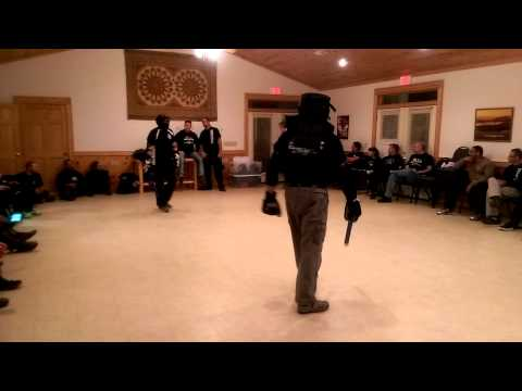 2014 CTS Largo Sparring with Bill