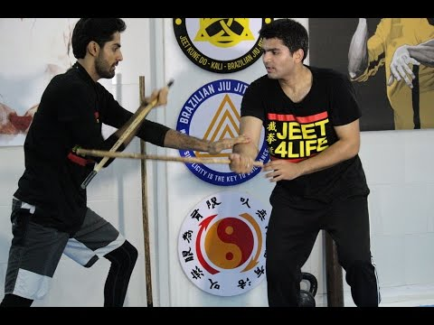 Filipino Kali Stick Drills at JKD India Athletic Club