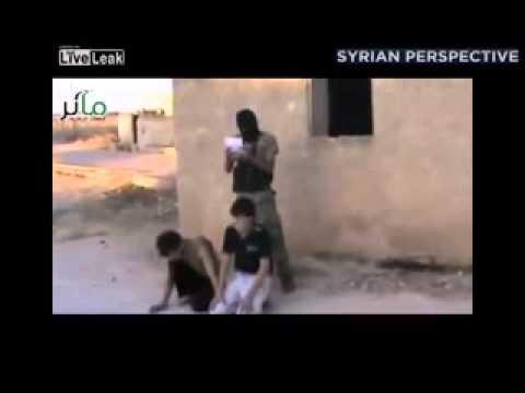 US Backed Rebel's kill Kid's 8/14/13