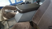 Finished center console