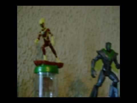 My Ben 10 Ultimate Alien Intro (with toys)