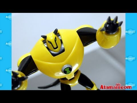 Ben 10 Armodrillo Toy Ultimate Alien Toys Review Unboxing