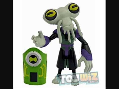 Ben 10 Ultimate Alien Azmuth And Zombozo 4 Inch Toys