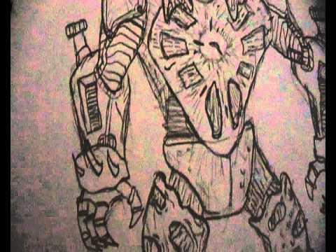 Ben 10 and Generator Rex Drawings Quick update. Hyperalien Agreggor drawing and more