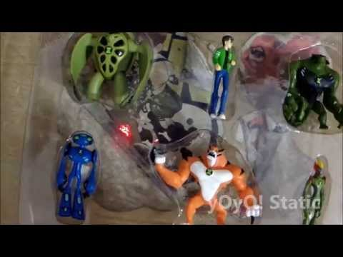 GRV Ben 10 6 in 1 Action figures Review Part 1 of 3