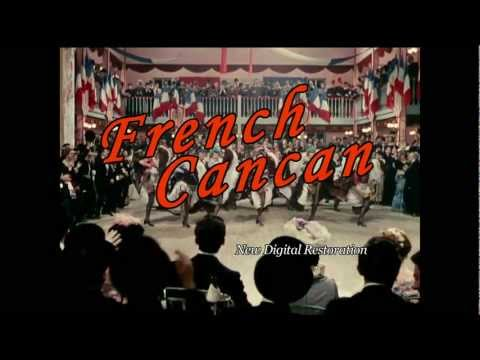 French Cancan by Jean Renoir (1955) Trailer