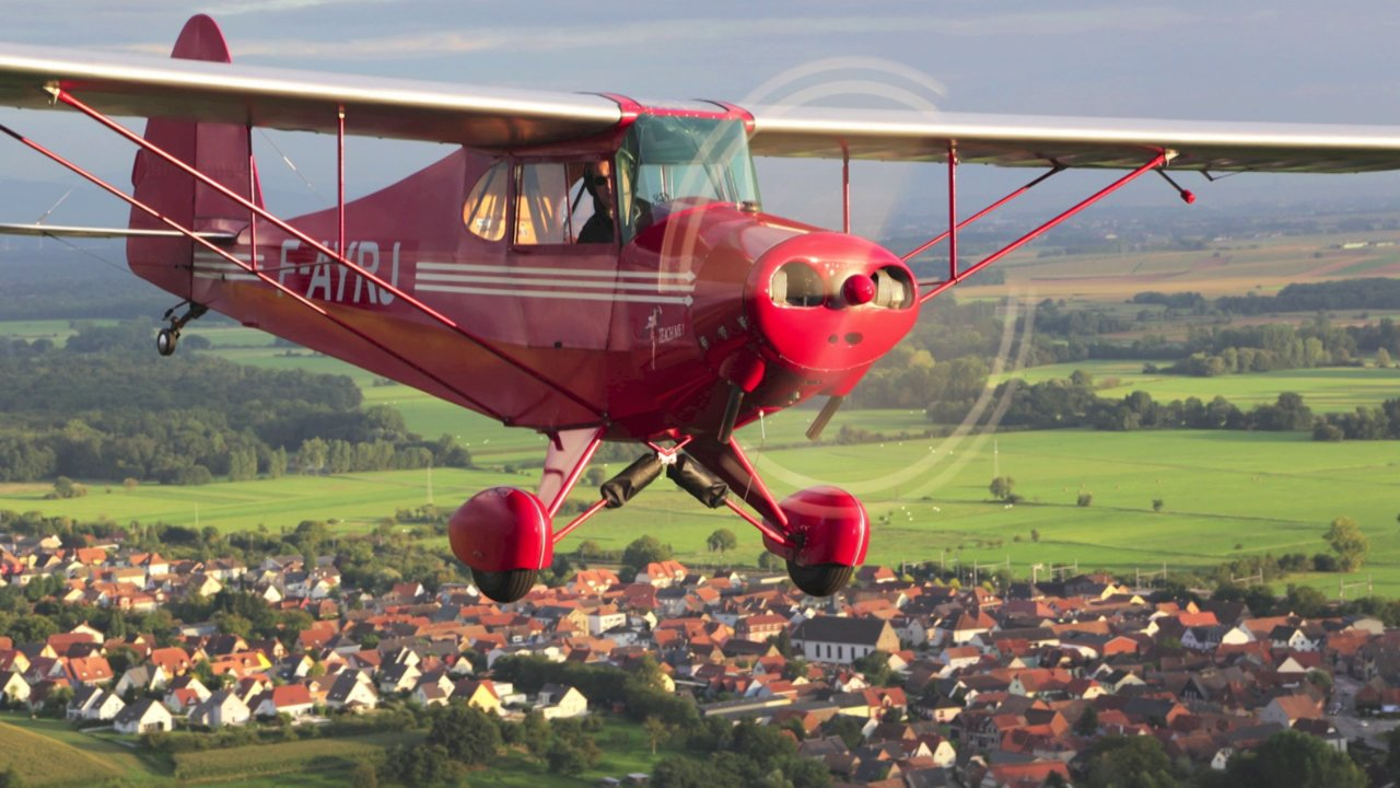 Porterfield CP-65 Collegiate -  Fox-Roméo Juliette