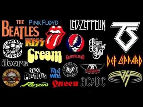 60's - 70's Rock non-stop compilation Vol. 01. HQ audio.