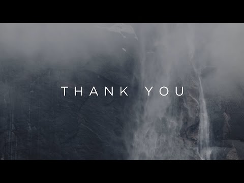 Thank You // Jonathan David Helser // Have It All Official Lyric Video