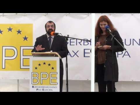Robert Spencer / Pax Europa rally Berlin 10/3/2009 - Part 1