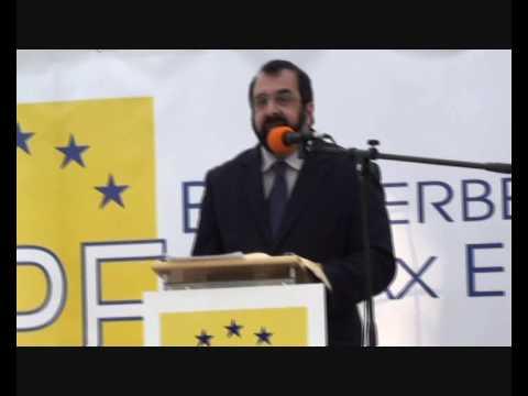Robert Spencer / Pax Europa rally Berlin 10/3/2009 - Part 2