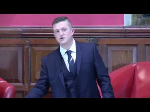 Tommy Robinson at Oxford Union