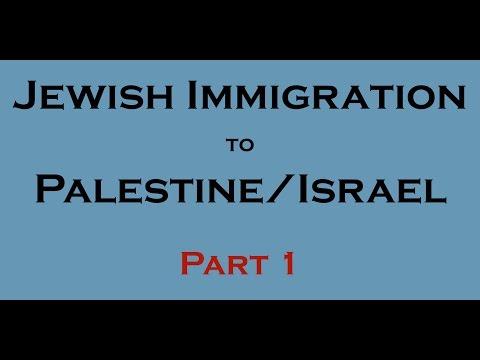 10 Facts - Jewish immigration to Palestine/Israel? (1800-1947)