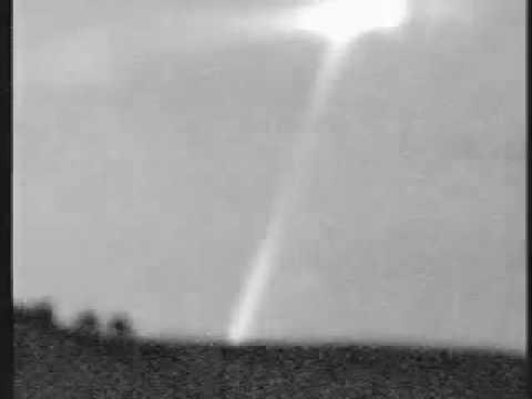 Night Vision Capture of UFO making Cropcircles
