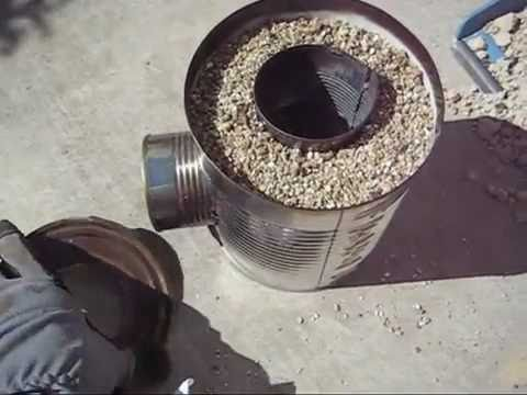 Build A Rocket Stove, Step-By-Step