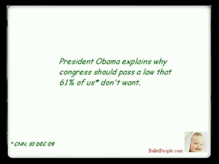 Joe Friday vs Obama