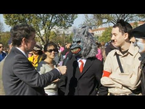 Is Obama A Keynesian? Rally For Sanity, 10/30/10