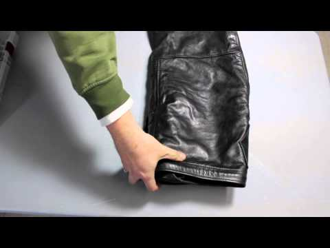 how to fold chaps | how to roll a chap pack