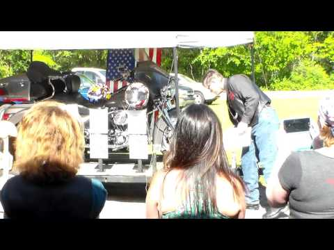 Sons Of Liberty Riders Missing Man Dedication at Bomber Girls LRC Wheel & Warriors Show 2016