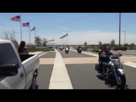 National Armed Forces FreedomRide/S.Cal 2014 Visiting Miramar Cemetery