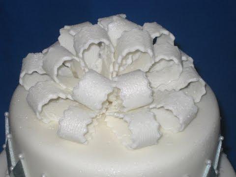 Hoe maak je een strik op je taart?