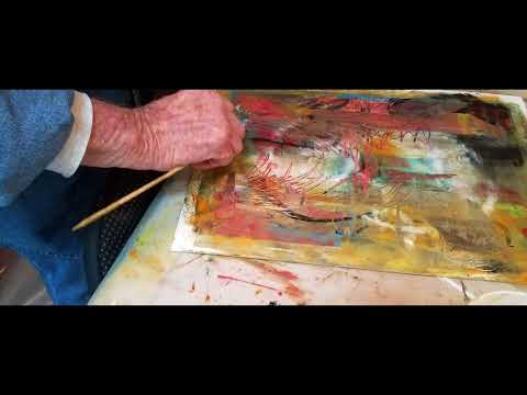 Bold and Uninhibited: Oil & Cold Wax Painting in Tuscany