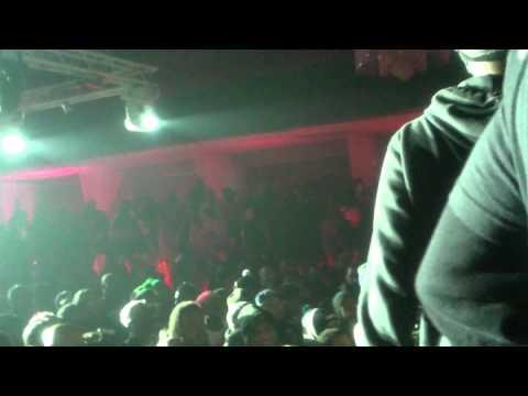Khalil Amani on Stage @ Loaded Lux/Hollow da Don Rap Battle
