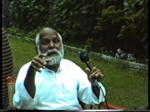 S.V.Govindan talks on Vinoba Bhave part 1