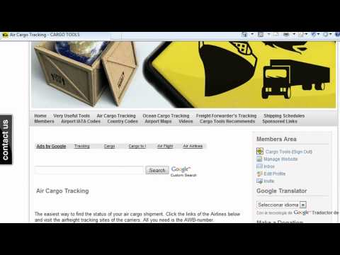 Cargotracking Cargo Tools - Air, Ocean, Freight Forwarder's Tracking and more!