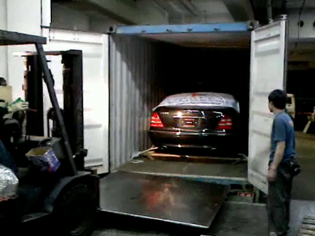 regal world car shipping(Benz)part3