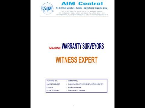 MARINE WARRANTY SURVEYORS COMPANY IN VIETNAM