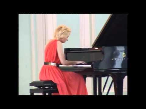 Violetta Egorova plays Tchaikovsky - Pletnev