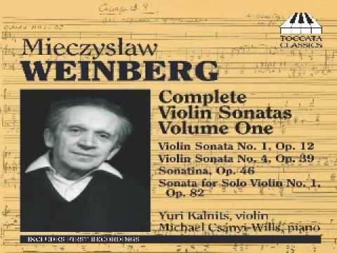 Weinberg Sonata for violin solo No.1 last mov