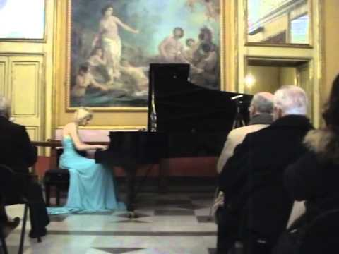 """Violetta Egorova plays Liszt, Hungarian Rhapsody N.9 """"Carnival in Pest"""""""