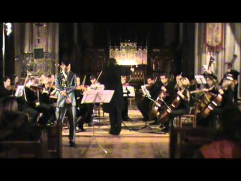 F.Brachetta's Clarinet Concerto (excerpt) London Arte Chamber Orchestra