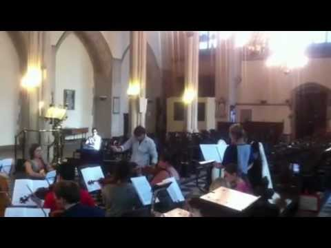 London Arte Chamber Orchestra Rehearsal
