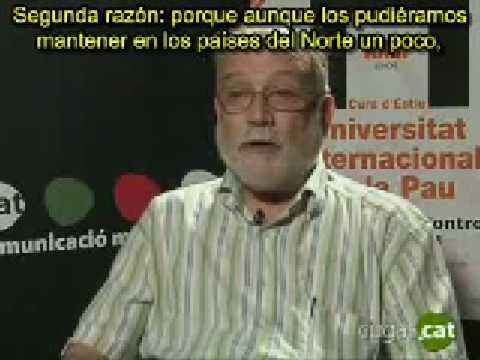 Arcadi Oliveres habla sobre el decrecimiento