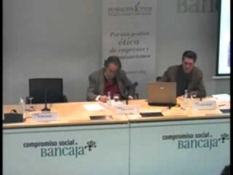 José Ángel Moreno en el XX Seminario ETNOR