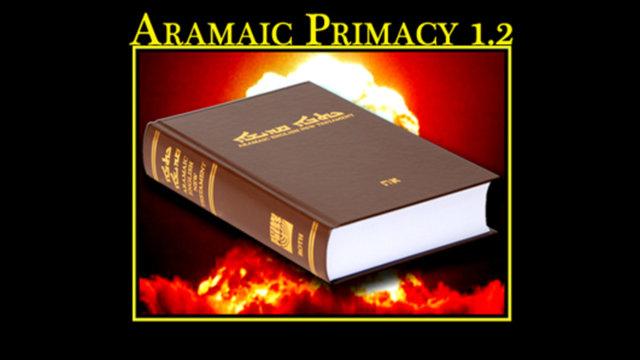 Aramaic Primacy.2
