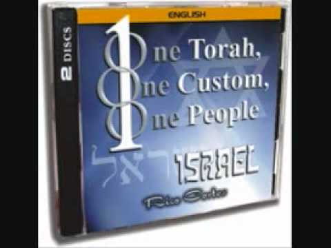 1 One Torah, ONE Custom, One People, Israel -Rico Cortes