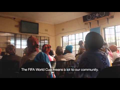 Granny's Grannies Football -- 2014 FIFA World Cup™ Trophy Tour by Coca-Cola in South Africa