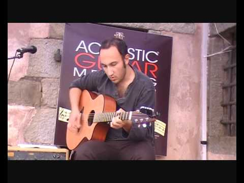 """Filippo Cosentino """"Sundance"""" live @ Acoustic Guitar Meeting on 20th of may 2011"""