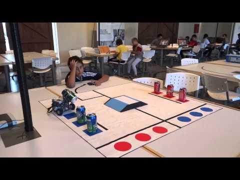 Prueba para la 2º competencia internacional de robótica virtual