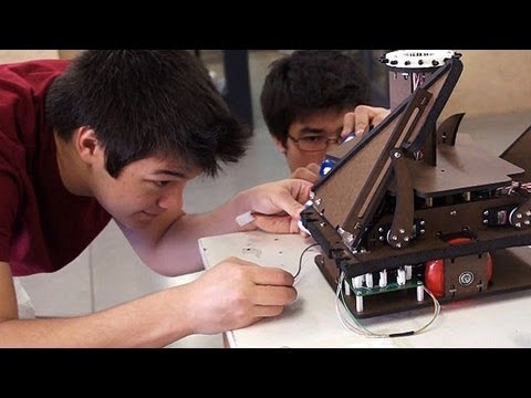 Stanford Students' Dueling Robots